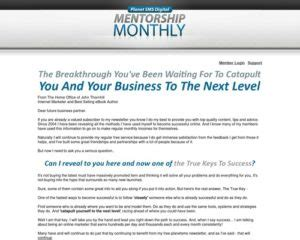 @ John Thornhill S Digital Mentorship Monthly Email .
